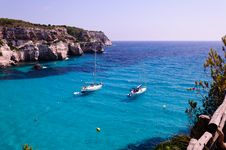 Free Cala Macarella Beach In Menorca, Spain Royalty Free Stock Photography - 28328547