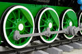 Free Wheels Of Vintage Steam Locomotive Royalty Free Stock Photography - 28330097