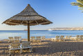 Free Beach And The Red Sea In The Morning Royalty Free Stock Photography - 28337847