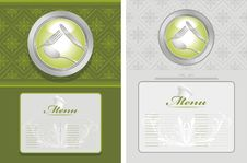 Free Two Menu Backgrounds Royalty Free Stock Photos - 28334138