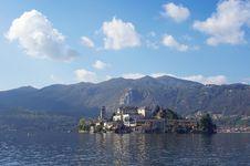 Free Saint Giulio Island On Orta Lake, Italy Stock Photography - 28334282