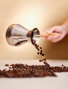 Free Cezve And Coffee Stock Photo - 28334720