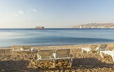 Free View On The Aqaba Gulf In Eilat Royalty Free Stock Photos - 28337848
