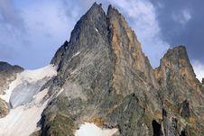 Free Mountain Peak Royalty Free Stock Image - 28338266