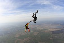 Free Skydiving Photo. Royalty Free Stock Images - 28339329