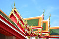 Free Roof Of Thai Temple Stock Photo - 28342370