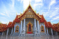 Free Wat Benchamabophit Royalty Free Stock Photo - 28343155