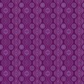 Free Pattern With Waves And Snowflakes, Purple Royalty Free Stock Photography - 28345477