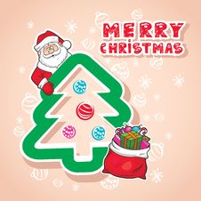 Free Christmas  Illustration Royalty Free Stock Photos - 28340458