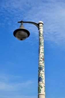 Free Lantern With Blue Sky Stock Images - 28341974