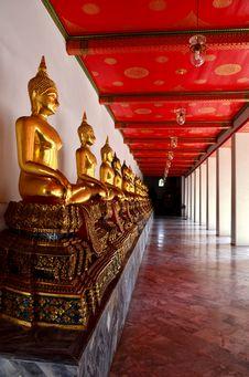 Free The Buddha Status Stock Photography - 28342242