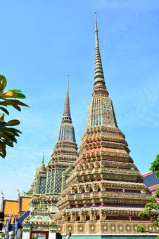 Free Pagoda Of Thai S Temple Royalty Free Stock Image - 28342416