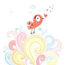 Free Love Bird Stock Image - 28343801