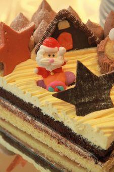 Free Santa Cake. Royalty Free Stock Image - 28347896
