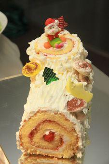 Free Santa Cake. Stock Images - 28347914