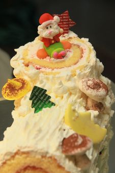 Free Santa Cake. Stock Photography - 28347922