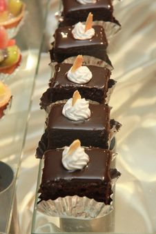 Free Chocolate Cake. Royalty Free Stock Photos - 28347948