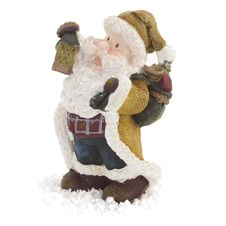 Free Santa Claus Figurine Isolated Stock Images - 28349804