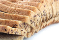 Free Closeup Of Multigrain Bread Slices With Flaxseeds Royalty Free Stock Photography - 28351427