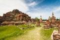 Free Ancient Temple Of Ayutthaya Royalty Free Stock Photo - 28352605