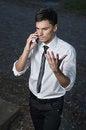 Free Unpleasant Conversation Stock Image - 28356941
