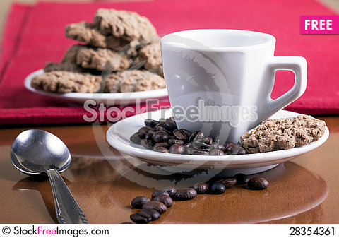 Free Coffee And Cakes Stock Image - 28354361