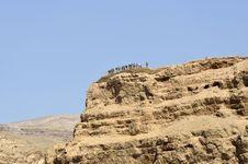 Free Masada Mountain Summit, Israel. Stock Photos - 28352593