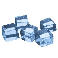 Free Five Ice Cubes Stock Photography - 28353692