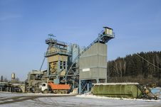Free Asphalt Concrete Plant Royalty Free Stock Photography - 28354567