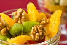 Free Macro Of Fresh Fruit Salad Royalty Free Stock Photos - 28358828