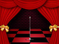 Free Stage With Checkered Floor Stock Images - 28361344