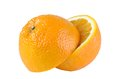 Free Halves Of Orange Stock Photo - 28361720