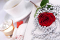 Free Romantic Table Setting Royalty Free Stock Photography - 28362777