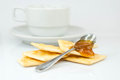Free Saltine Crackers And Jam Royalty Free Stock Photography - 28366637