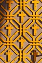 Free Orthodox Pattern With Crosses Stock Photography - 28368642