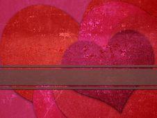 Free Metal Hearts Stock Image - 28361321