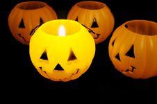 Free Jack O Lantern Royalty Free Stock Image - 28361416