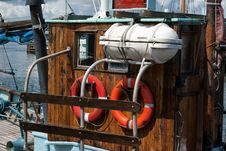 Free Details Of A Classical Fishing Boat Stock Photo - 28361950