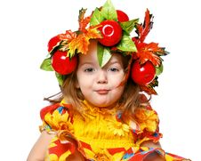 Free Portrait Of A Girl In A Wreath Stock Photos - 28362273