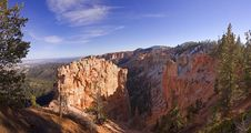 Bryce Canyon Panoramic View Stock Image