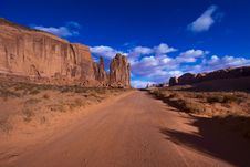 Monument Valley In Arizona Stock Images