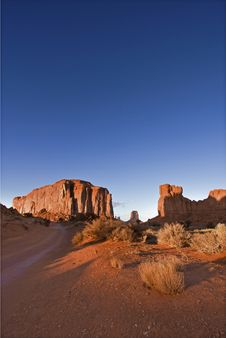Monument Valley In Arizona Royalty Free Stock Photography