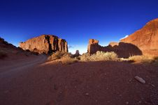 Monument Valley In Arizona Royalty Free Stock Images