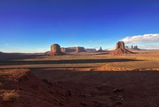 Monument Valley In Arizona Stock Image