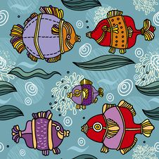 Free Fish Background Stock Images - 28363964