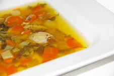 Free Vegetable Soup Stock Image - 28364891