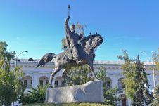 Free A Monument To Hetman Sahaidachny Royalty Free Stock Photos - 28365508