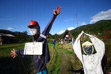 Free Scarecrow In Japan Royalty Free Stock Photography - 28366077