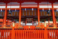 Free Fushimi Inari Shrine In Japan Royalty Free Stock Photos - 28366408