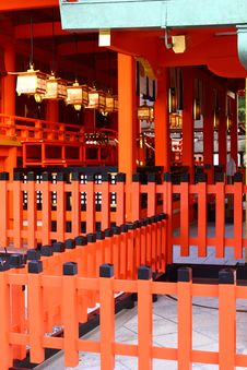 Free Fushimi Inari Shrine In Japan Royalty Free Stock Photography - 28366567